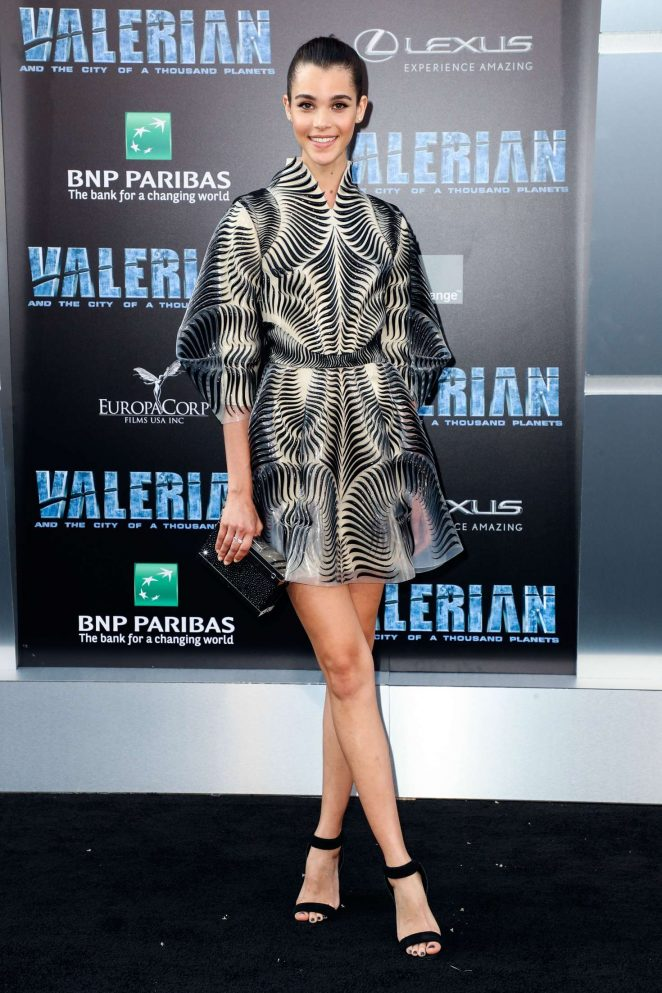 Pauline Hoarau - 'Valerian and The City of a Thousand Planets' Premiere in Hollywood