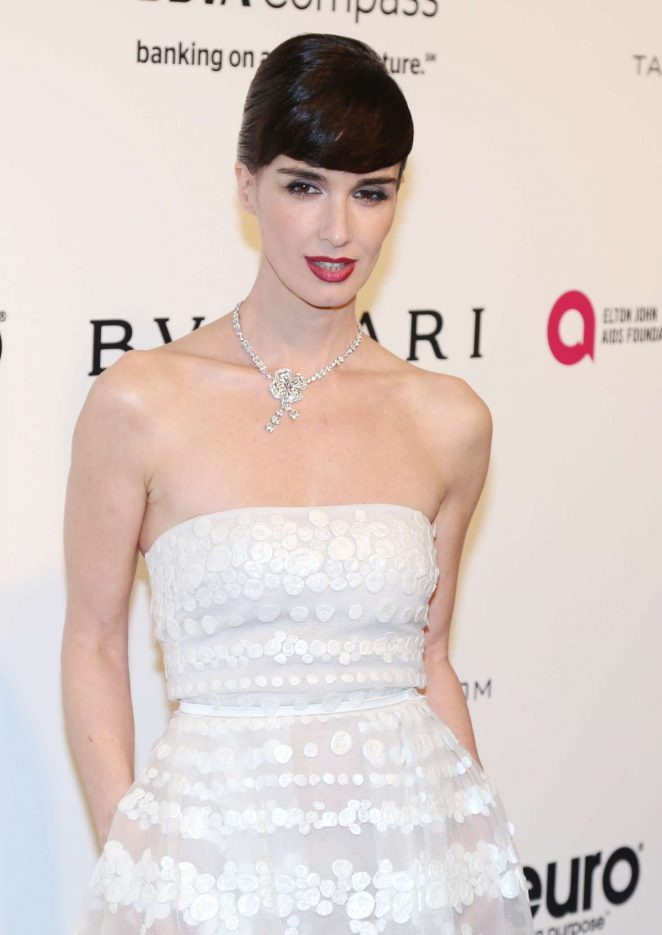 Paz Vega - 2017 Elton John AIDS Foundation's Oscar Viewing Party in West Hollywood