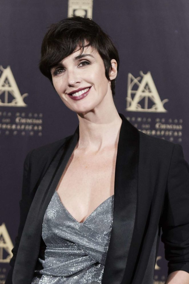 Paz Vega - Academy of Motion Picture Arts and Sciences Photocall in Madrid