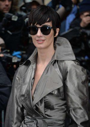 Paz Vega - Arriving at Jean-Paul Gaultier Show SS 2017 in Paris