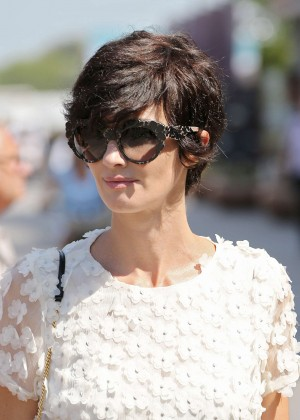 Paz Vega at the Lido in Venice