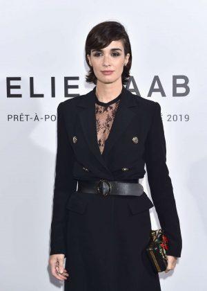 Paz Vega - Elie Saab Fashion Show in Paris