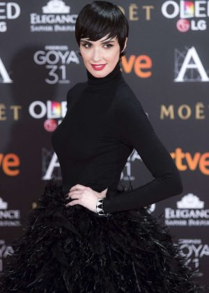 Paz Vega - Goya Cinema Awards 2017 in Madrid