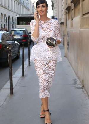 Paz Vega - Ralph Russo Fashion Show in Paris