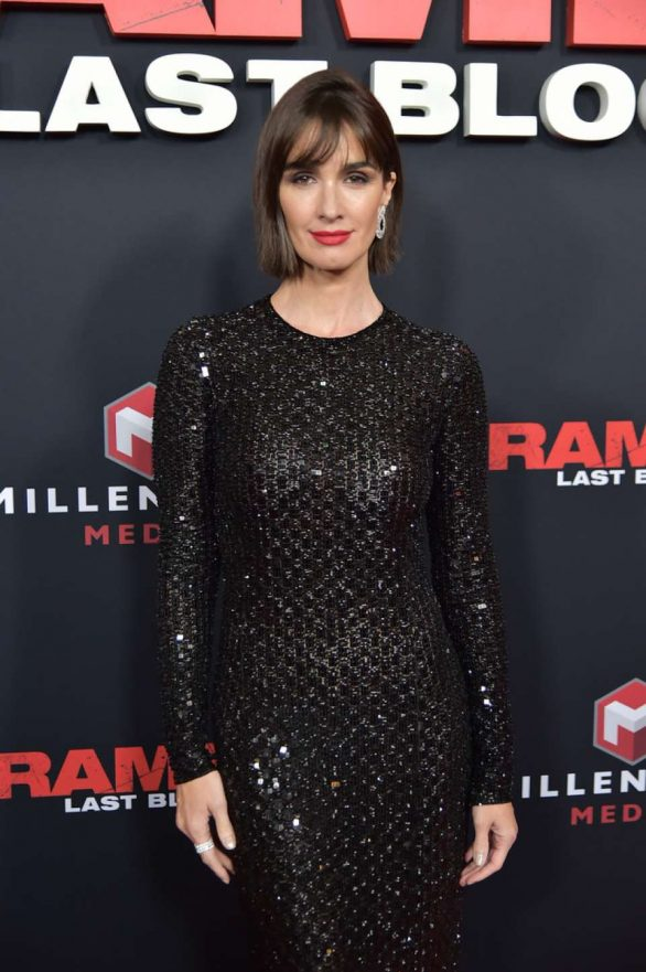 Paz Vega - 'Rambo: Last Blood' Screening in NYC