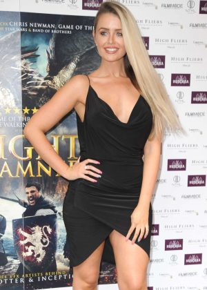 Pearl Day - 'Knights of the Damned' Premiere in London