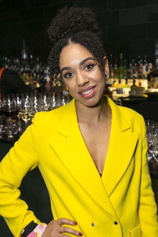 Pearl Mackie - 'The Birthday Party' Play in London