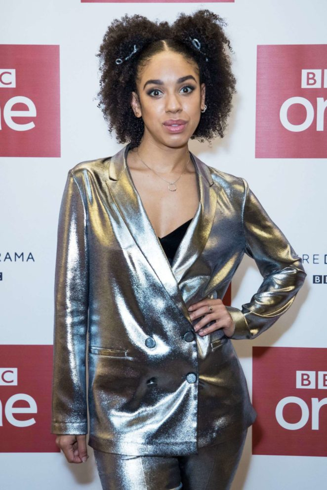 Pearl Mackie - 'Twice Upon A Time' Doctor Who Special Launch Event in London