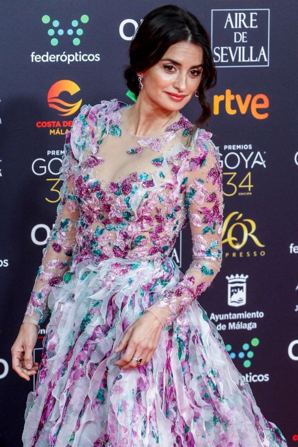 Penelope Cruz - 34th Goya Cinema Awards in Madrid