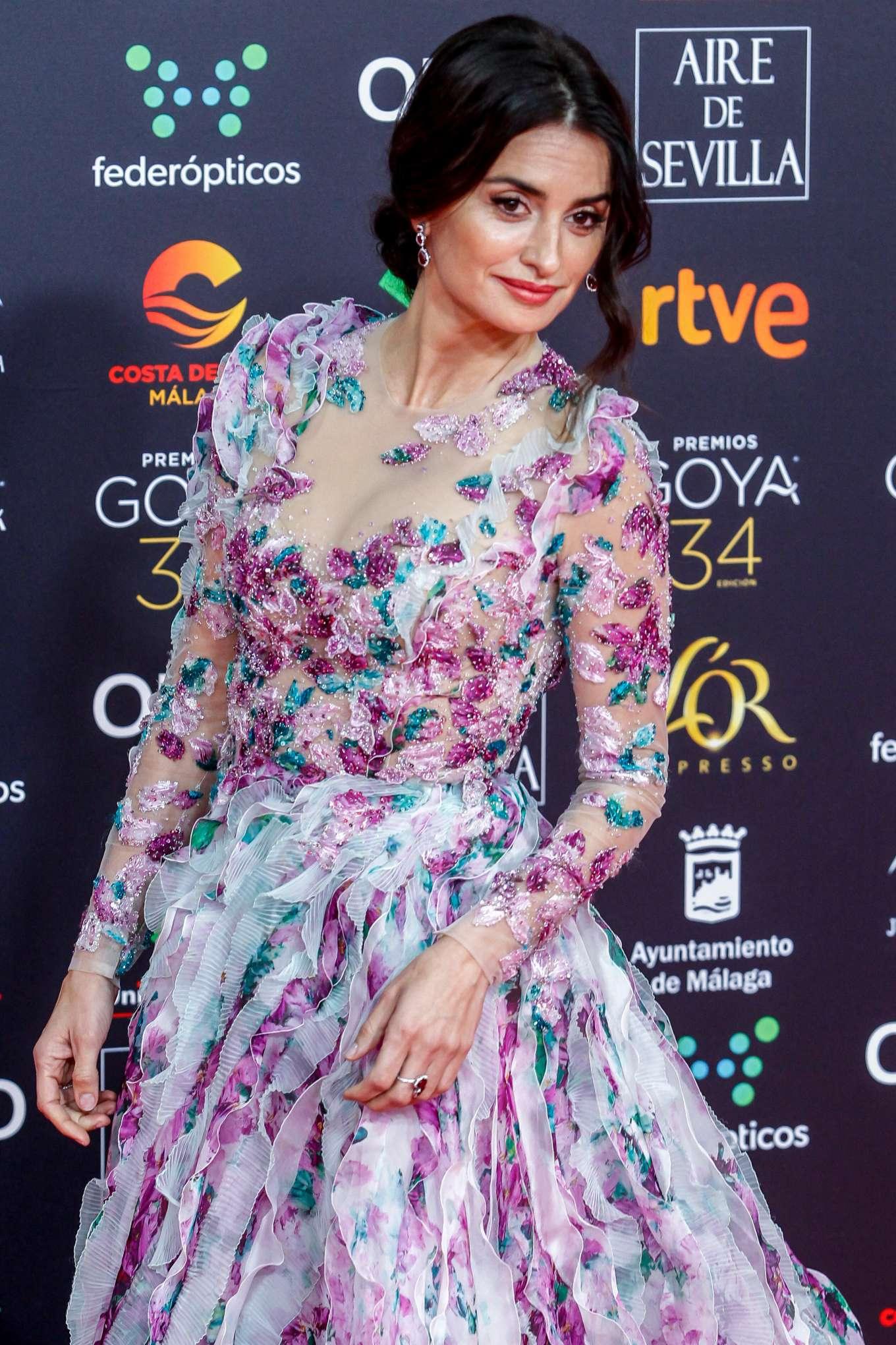 Penelope Cruz - 34th Goya Cinema Awards in Madrid