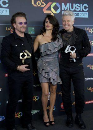 Penelope Cruz - 40th Principales Music Awards in Madrid