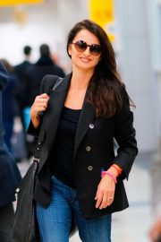 Penelope Cruz - Arrives at JFK Airport in New York