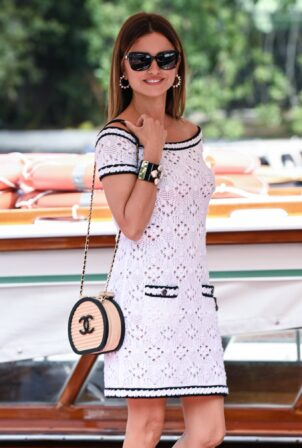 Penelope Cruz - Arrives at Lido in Venice
