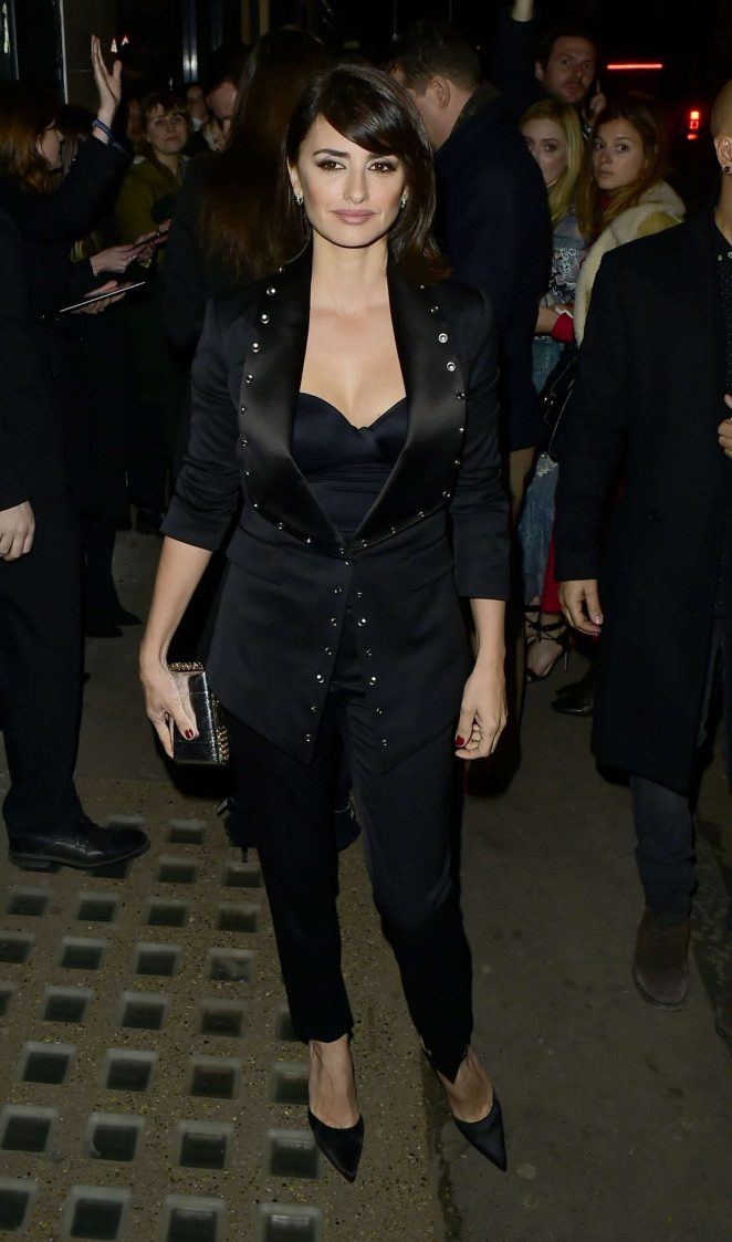 Penelope Cruz - Burberry Show Afterparty at 2017 LFW in London