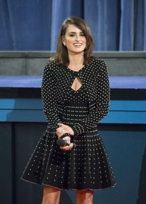 Penelope Cruz - Closes a Film Series Dedicated to Pedro Almodovar in Madrid