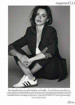 Penelope Cruz - Elle Spain Magazine (December 2018)