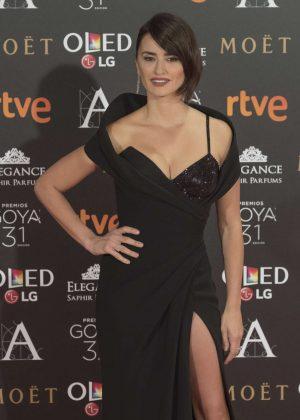 Penelope Cruz - Goya Cinema Awards 2017 in Madrid