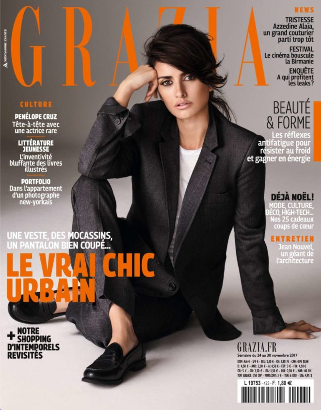 Penelope Cruz - Grazia France Magazine (November 2017)