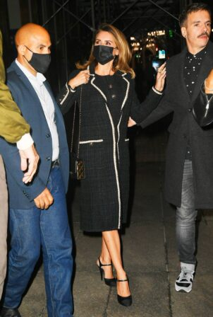 Penelope Cruz - Leaves after dinner at Nobu Fifty Seven in New York