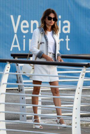 Penelope Cruz - Seen at the airport in Venice