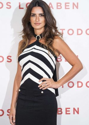 Penelope Cruz - 'Todos lo saben' Photocall in Madrid