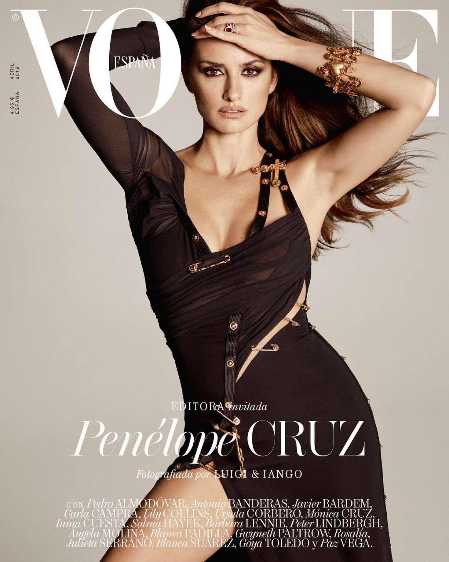 Penelope Cruz - Vogue Spain Cover (April 2019)