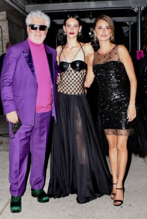 Penelope Cruz - With Milena Smit Seen at the Lincoln Center in New York