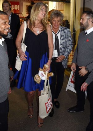 Penny Lancaster - Hello! Magazine x Dover Street Market Anniversary Party in London