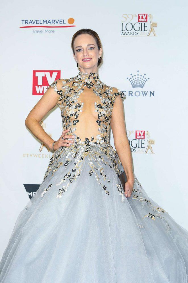 Penny McNamee - 2017 Annual TV Week Logie Awards in Melbourne