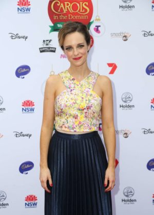 Penny McNamee - Woolworths Carols in the Domain pre-show VIP Party in Sydney