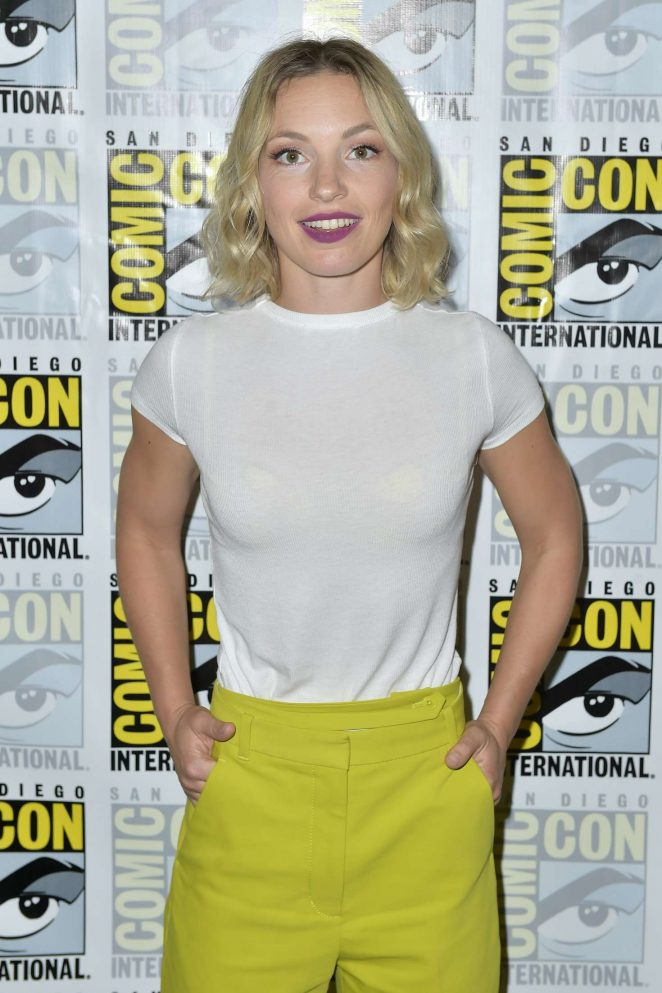 Perdita Weeks Charmed Photocall At 2018 Comic Con International