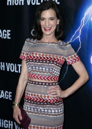 Perrey Reeves - 'High Voltage' Premiere in Los Angeles