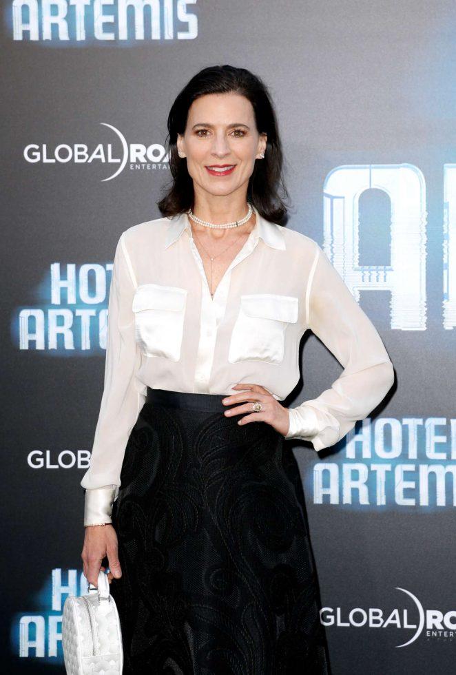 Perrey Reeves – 'Hotel Artemis' Premiere in Los Angeles