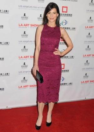 Perrey Reeves - The LA Art Show and The Los Angeles Fine Art Show 2016 in Los Angeles