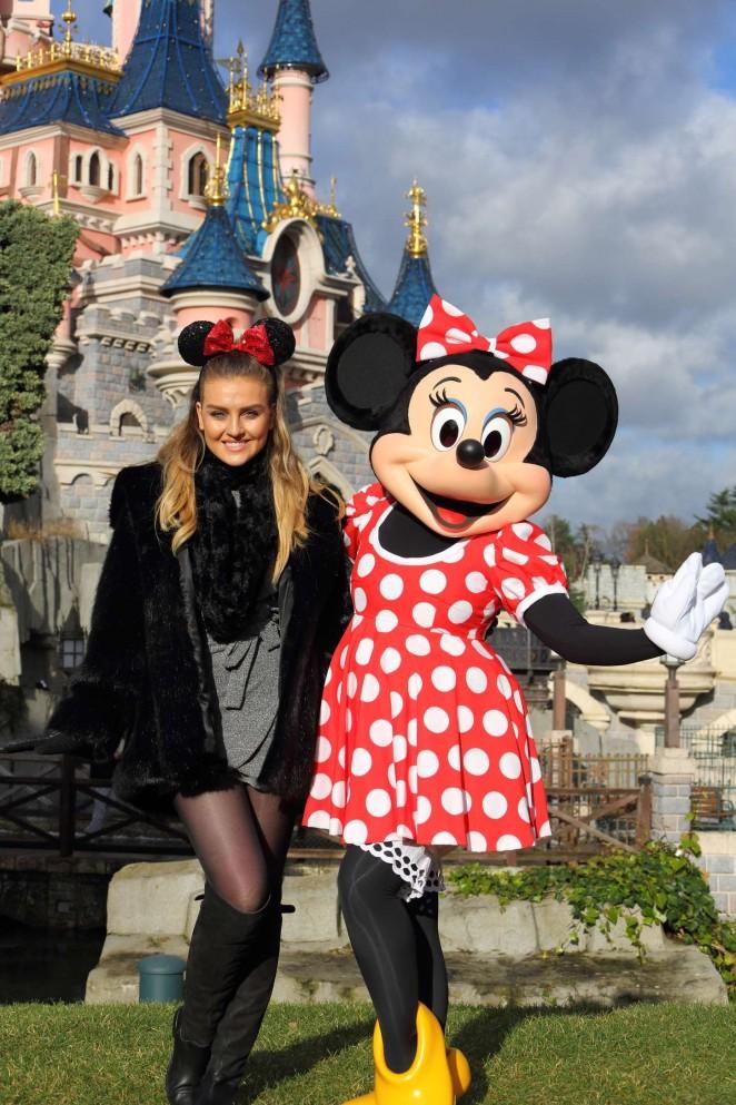 Perrie Edwards - Disneyland in Paris