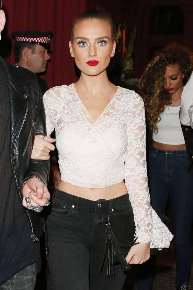 Perrie Edwards - Night out in London