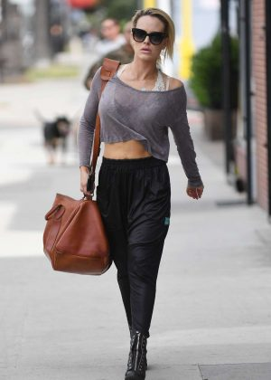 Peta Murgatroyd 0 Leaves a Dance Studio in Hollywood