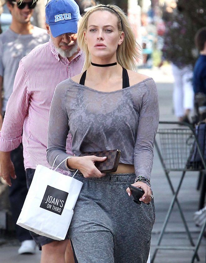 Peta Murgatroyd at a Restaurant in Beverly Hills