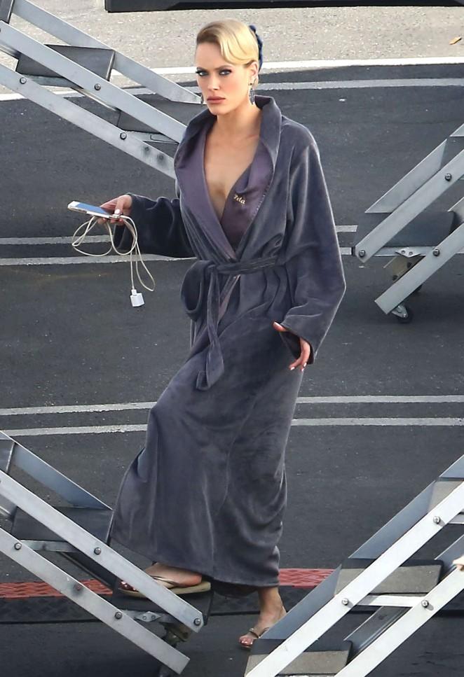 Peta Murgatroyd at 'Dancing With The Stars' Studios in Hollywood