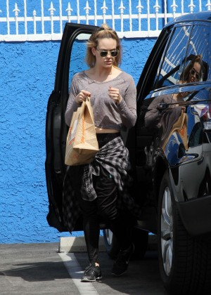 Peta Murgatroyd at DWTS Studio in Hollywood