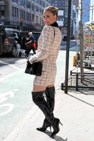 Peta Murgatroyd - Out and about in Times Square, Manhattan