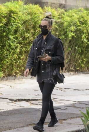 Peta Murgatroyd - Seen after workout session in West Hollywood