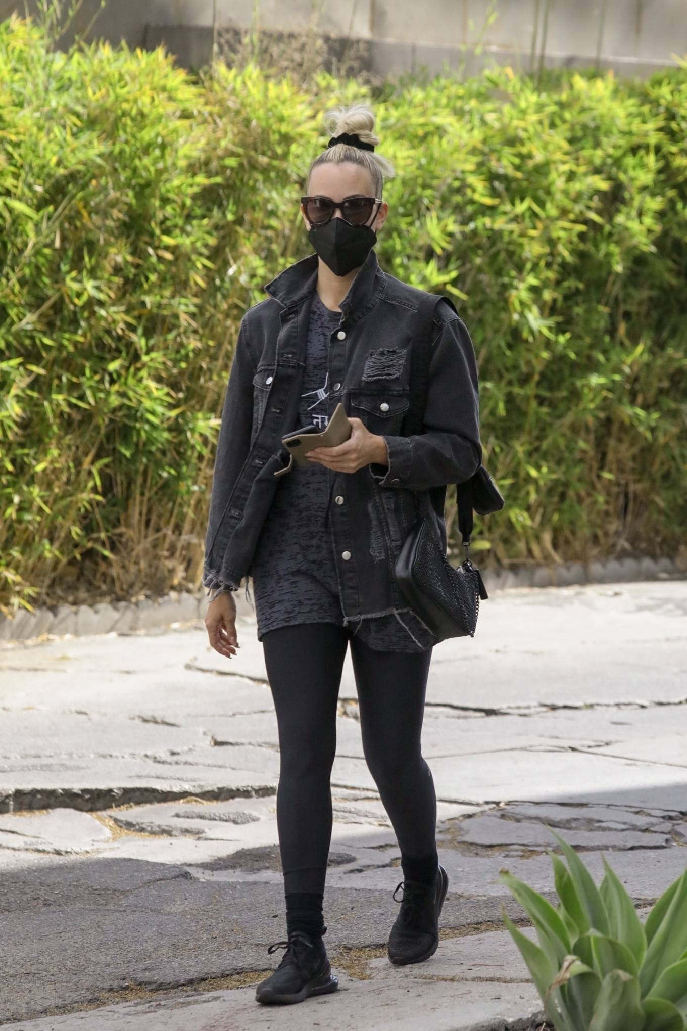 Peta Murgatroyd - Seen after workout session in West