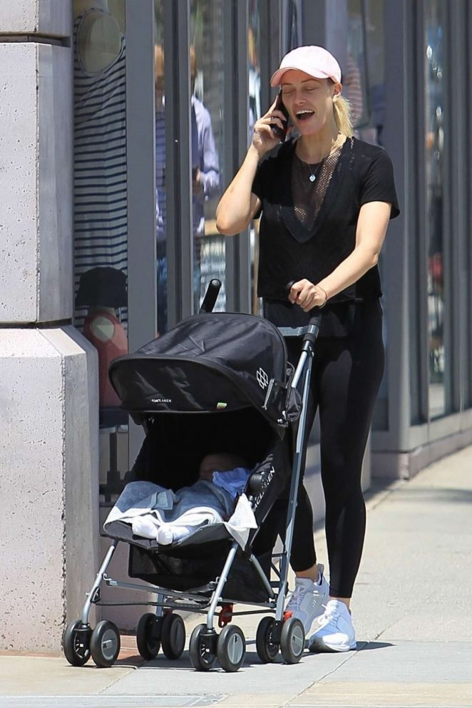 Peta Murgatroyd With Her Baby out in Los Angeles