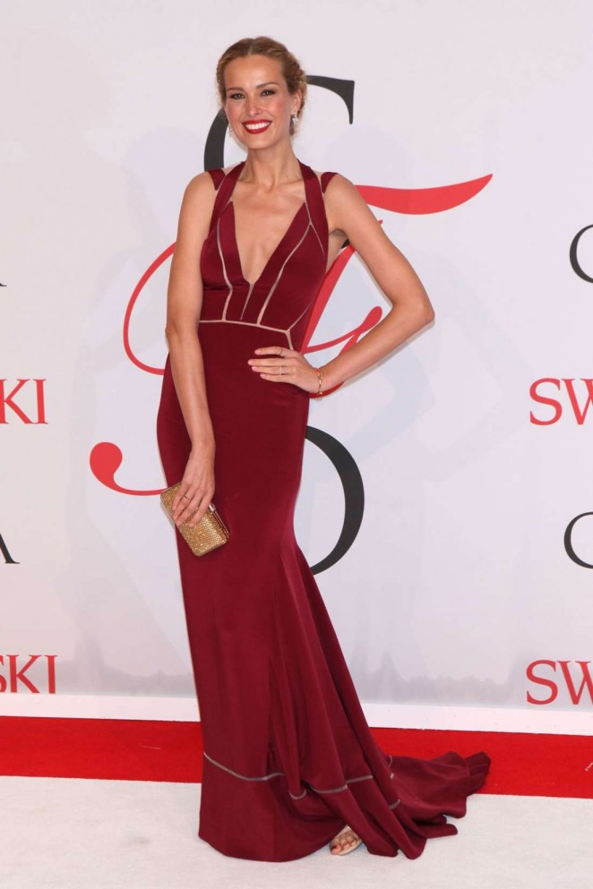 Petra Nemcova - 2015 CFDA Fashion Awards in NYC