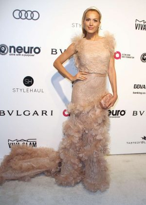 Petra Nemcova - 2017 Elton John AIDS Foundation's Oscar Viewing Party in West Hollywood