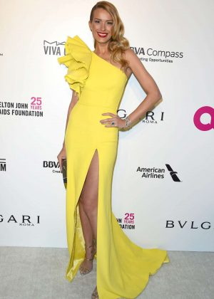 Petra Nemcova - 2018 Elton John AIDS Foundation's Oscar Viewing Party in West Hollywood