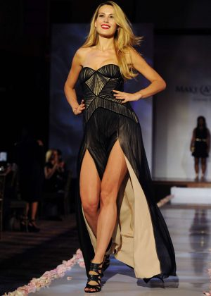 Petra Nemcova - BCBG Make-A-Wish Fashion Show in Los Angeles