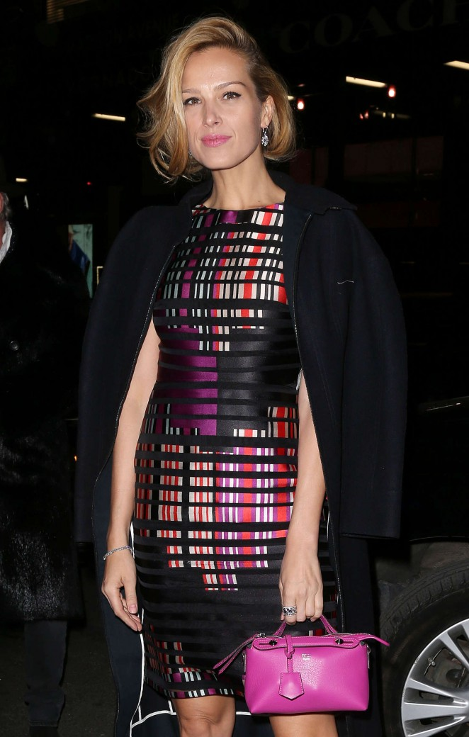 Petra Nemcova - Fendi New York Flagship Boutique Inauguration Party in NYC