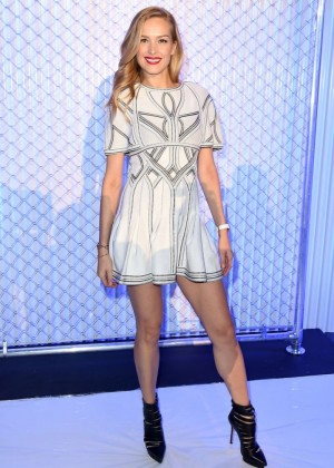 Petra Nemcova - Herve Leger Fall 2016 Fashion Show in NYC